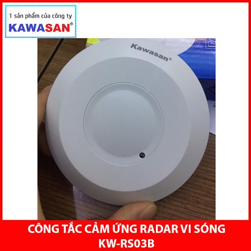 CÔNG TẮC CẢM ỨNG RADA VI SÓNG KAWASAN -  RS03B (HÀNG CHÍNH HÃNG )