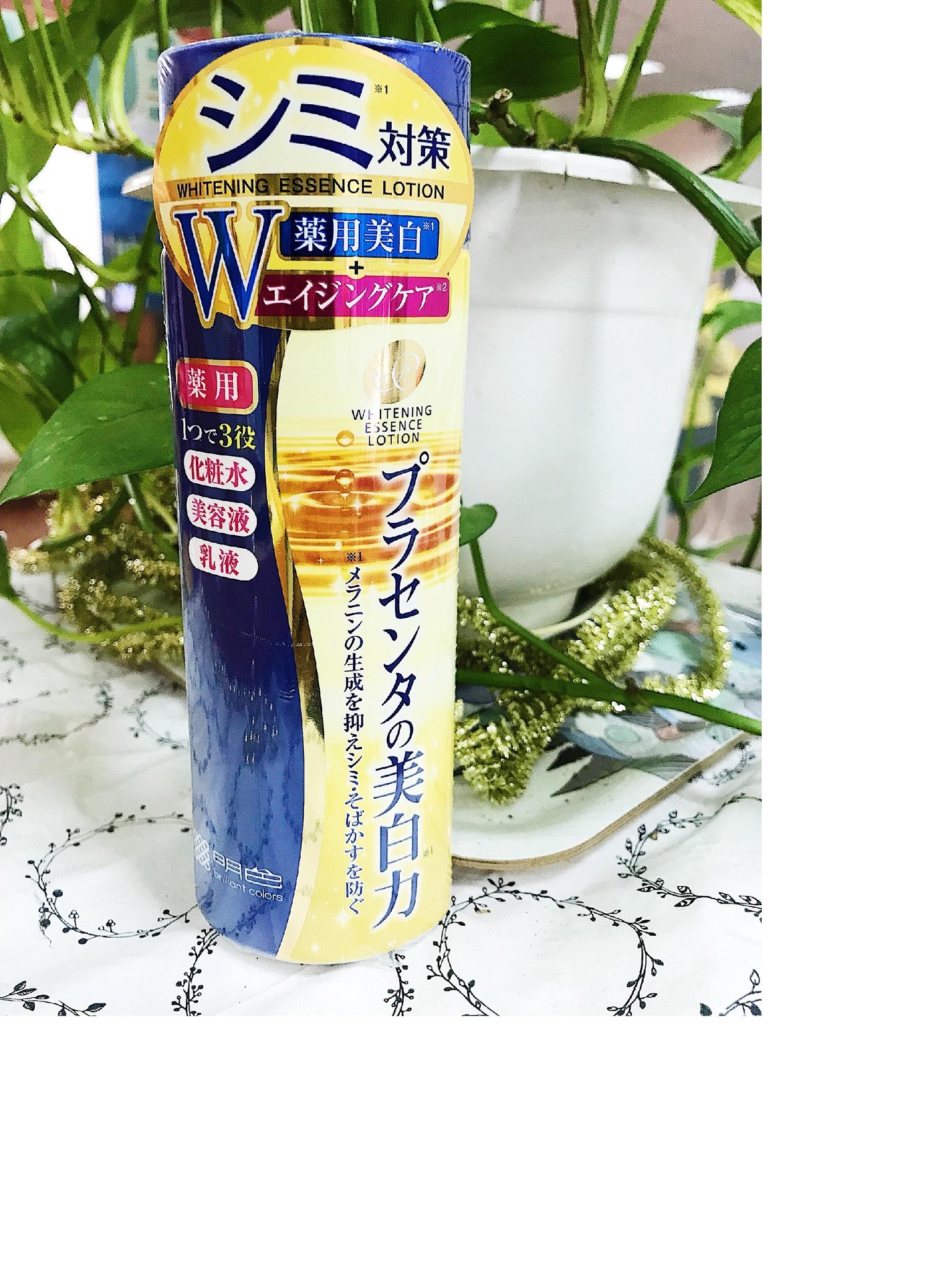 Nước hoa hồng dưỡng trắng Meishoku placewhiter essence lotion 190ml