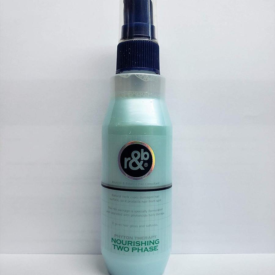 Nước xịt dưỡng tóc bóng mềm giữ ẩm bảo vệ phục hồi tóc bị hư tổn R&B Nourishing Two Phase, Hàn Quốc 250ml