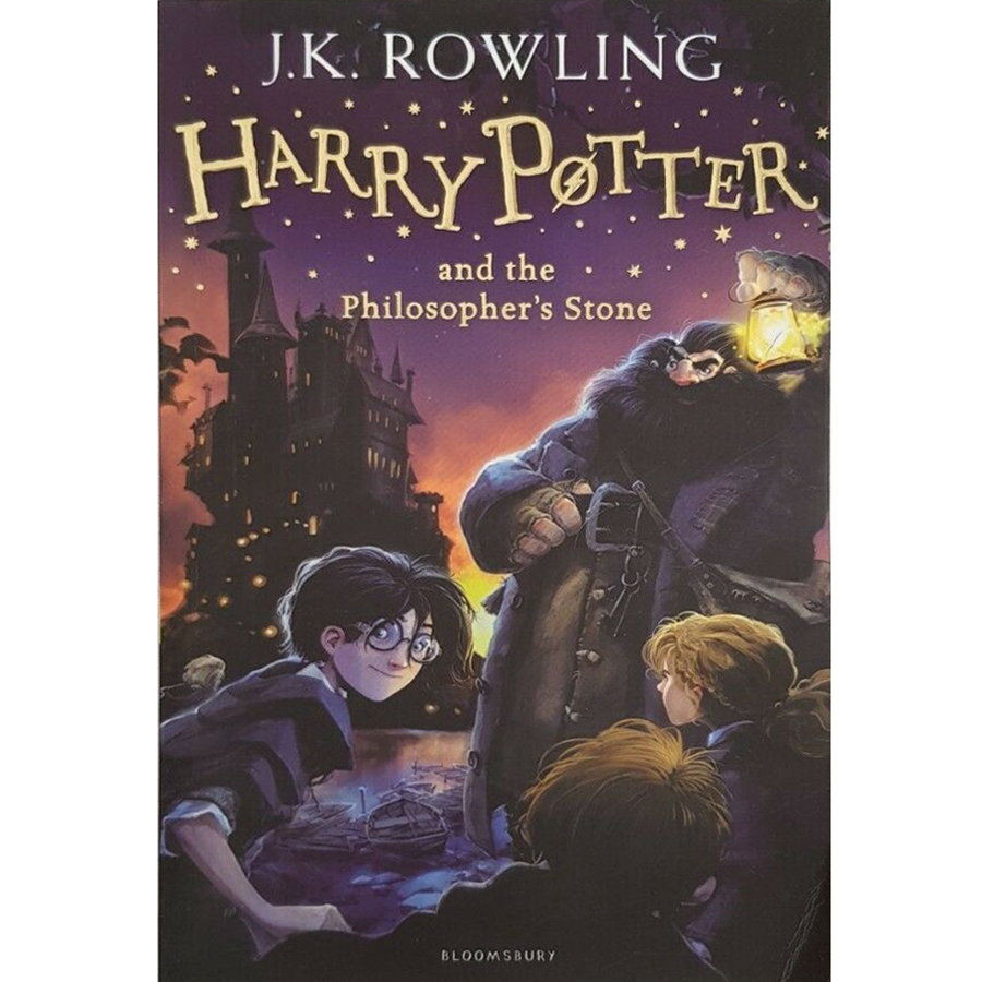 Harry Potter Part 1 : Harry Potter And The Philosopher's Stone (Harry Potter và Hòn đá phù thủy) (Paperback) (English Book)