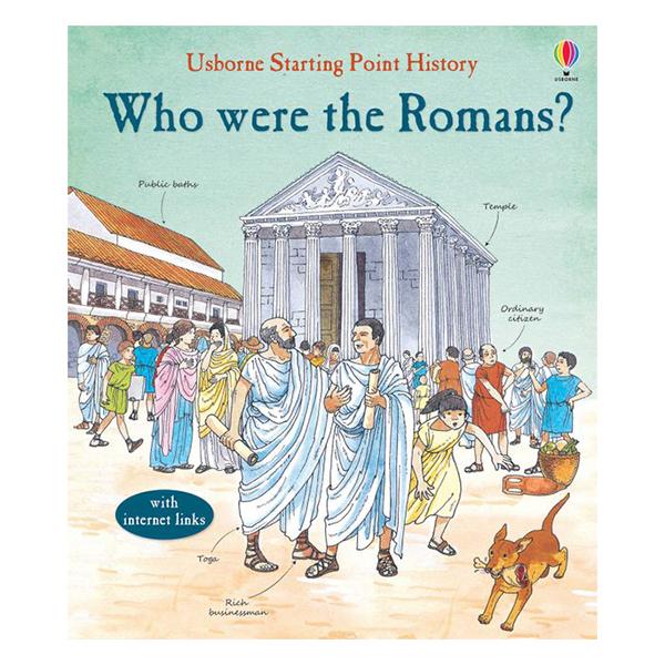 Usborne Who Were The Romans?