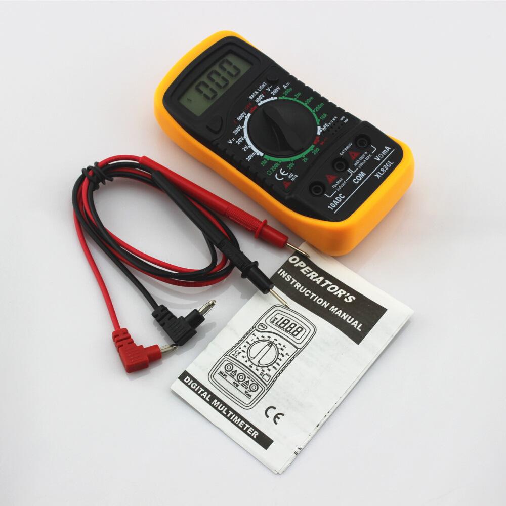 Combo Bộ Sản Phẩm Đo Điện Dân Dụng : Đồng Hồ Đo Vạn Năng + Đồng Hồ Đa Năng HTC-1: Đo Nhiệt Độ , Độ Ẩm Và Báo Thức