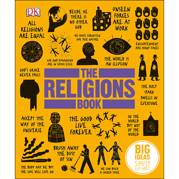 DK The Religions Book (Series Big Ideas Simply Explained)