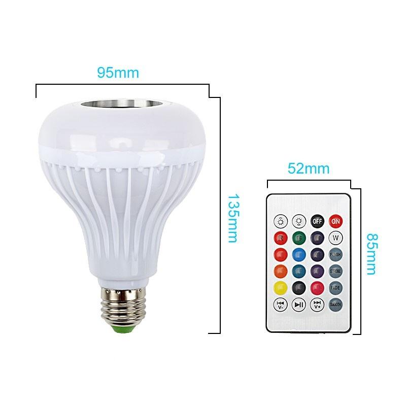 Đèn LED đổi màu kiêm bluetooth và loa có remote