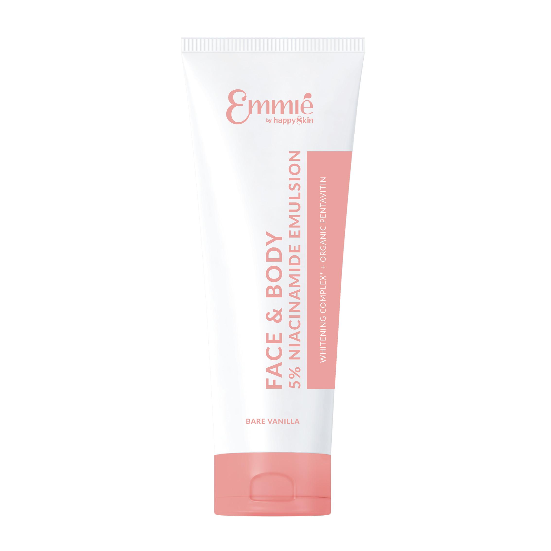 Kem Dưỡng Trắng Da Face & Body Emmie 5% Niacinamide Emulsion