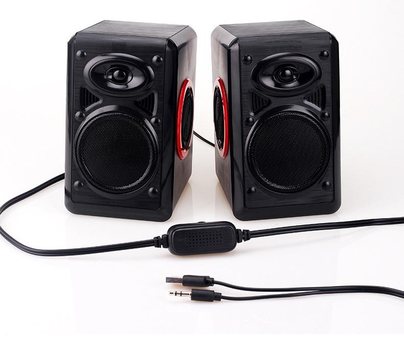 Loa nghe nhạc vi tính cao cấp cho máy tính Laptop PC Điện thoại P164 - Hàng Chính Hãng