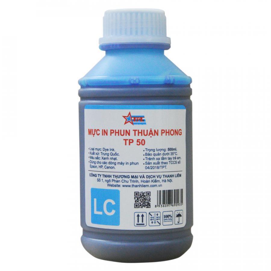 Bộ 6 Màu Mực in phun Thuận Phong TP50 (500ml) dùng cho tất cả các dòng máy in phun Epson, HP, Canon - Hàng Chính Hãng