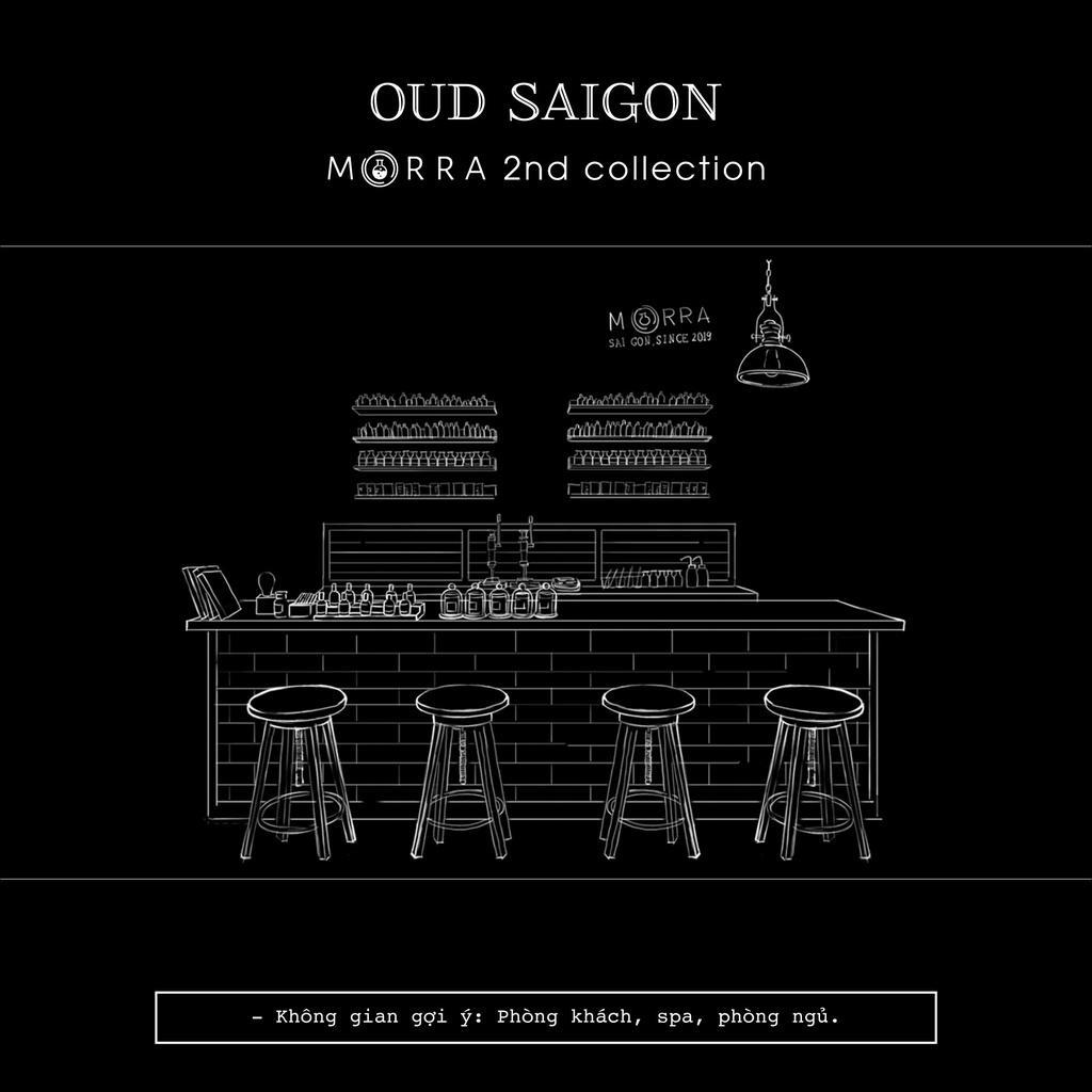 Nến thơm Morra Oud Saigon 200g
