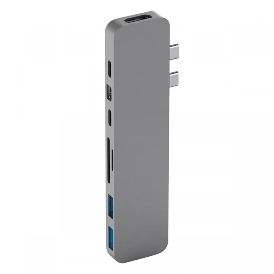 Cổng chuyển HyperDrive PRO 8-in-2 USB-C Hub cho MacBook Pro 2016/2017/2018 và MacBook Air 2018 - Hàng Chính Hãng