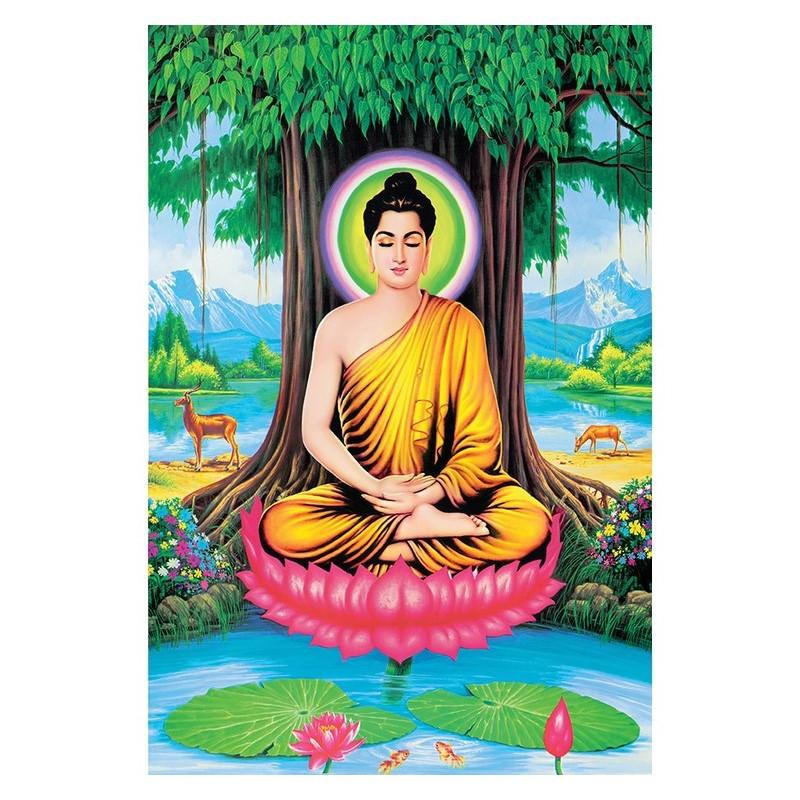 Tranh Phật Giáo Phật Thích Ca Mâu Ni 2049
