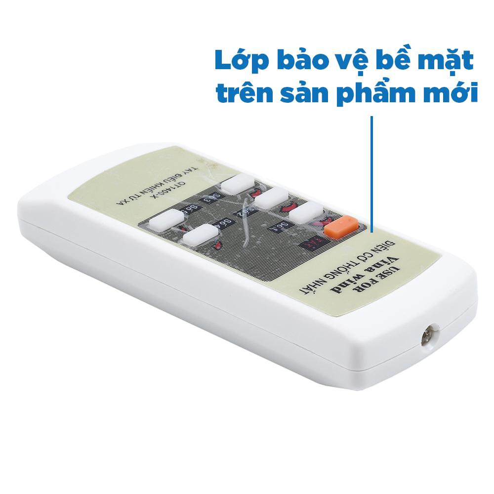 Remote điều khiển cho quạt trần Vinawind điện cơ Thống Nhất QT1400X