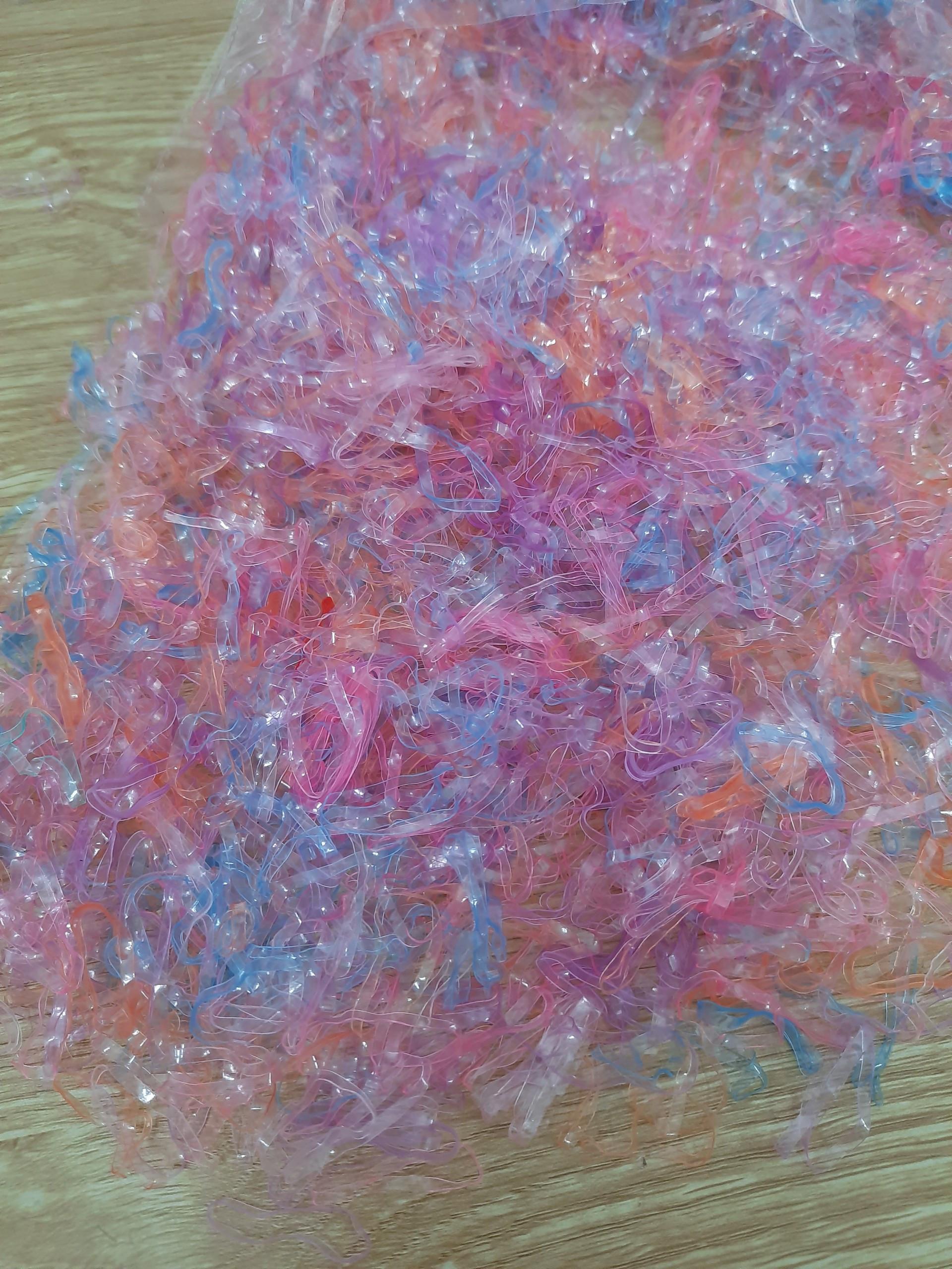 Dây Thun Cột Tóc Nữ túi 50 gam - Giao màu ngẫu nhiên