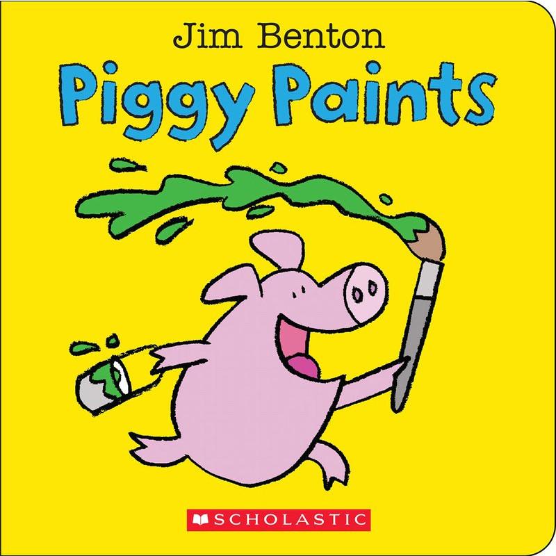 Piggy Paints : A Big and Little Book