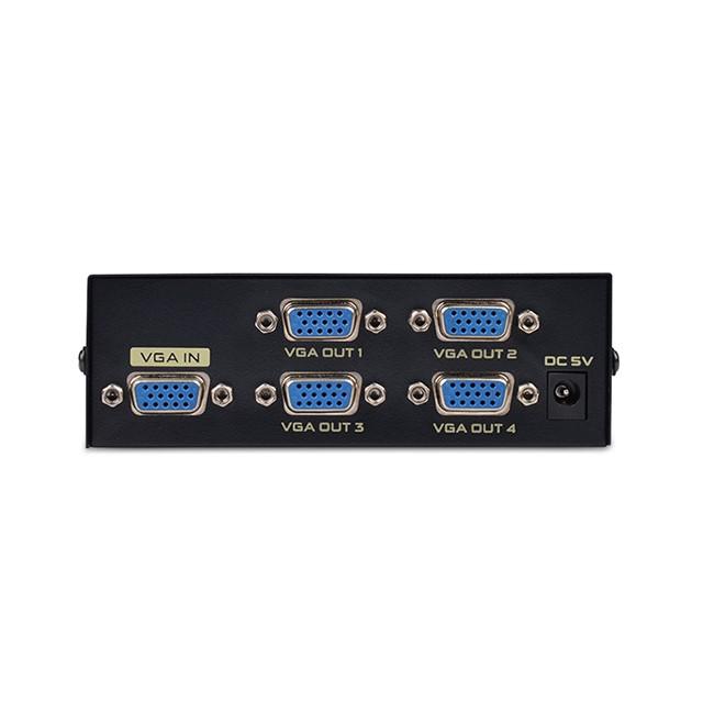 Hub HN chia 1CPU ra 4 VGA Lựa chọn hiển thị đầu vào bằng nút bấm