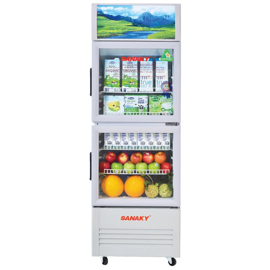 Tủ Mát Sanaky VH-218WL (170L) - Hàng Chính Hãng - Chỉ Giao Tại HCM