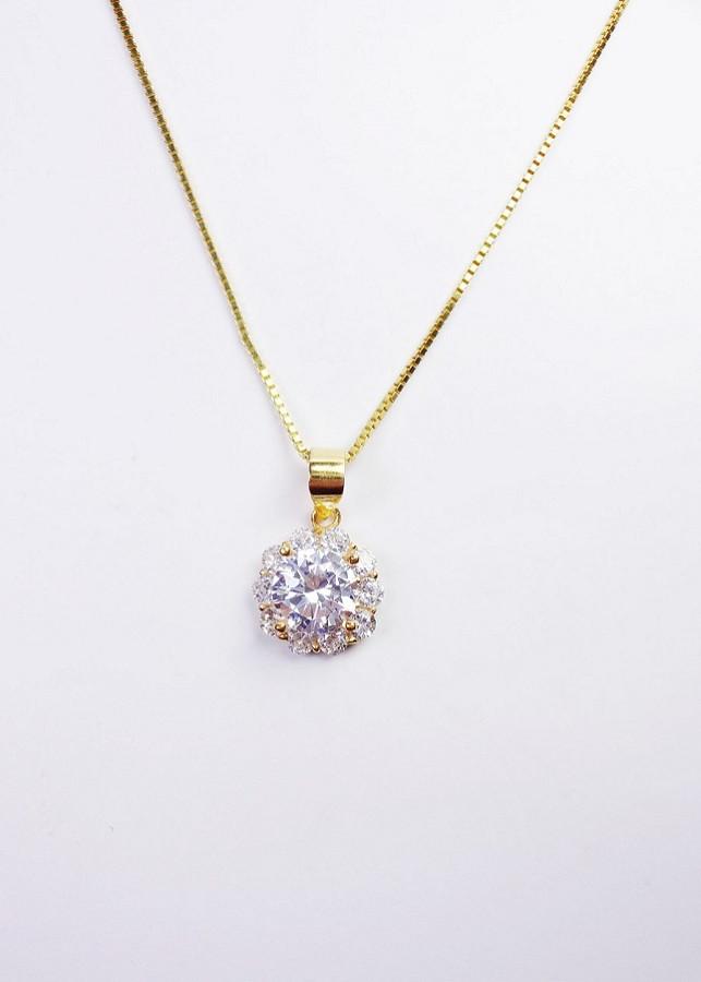 Trang sức dây chuyền hoa mạ vàng 999 đính pha lê Swarovski Keely Valda - 23387826 , 7445005475676 , 62_14845261 , 500000 , Trang-suc-day-chuyen-hoa-ma-vang-999-dinh-pha-le-Swarovski-Keely-Valda-62_14845261 , tiki.vn , Trang sức dây chuyền hoa mạ vàng 999 đính pha lê Swarovski Keely Valda