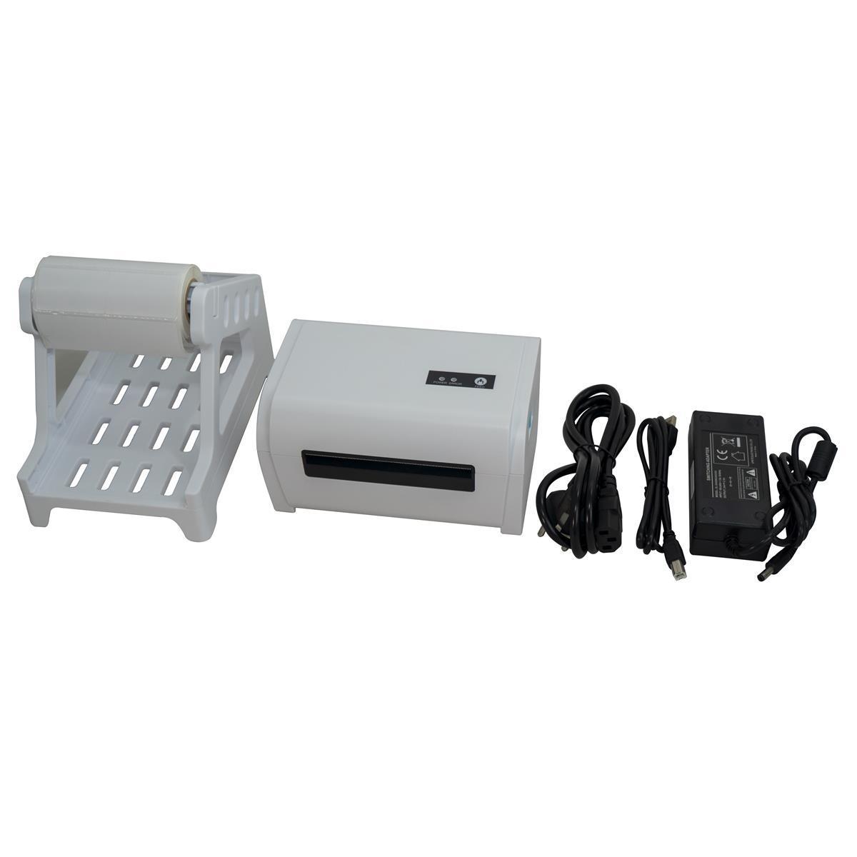 Máy in tem đơn hàng TMĐT Teki N42  (USB+LAN) Hàng chính hãng