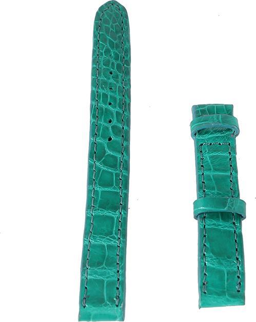 Dây Đồng Hồ Da Cá Sấu Size Nhỏ Huy Hoàng HT8265 - Xanh Lá Size 12