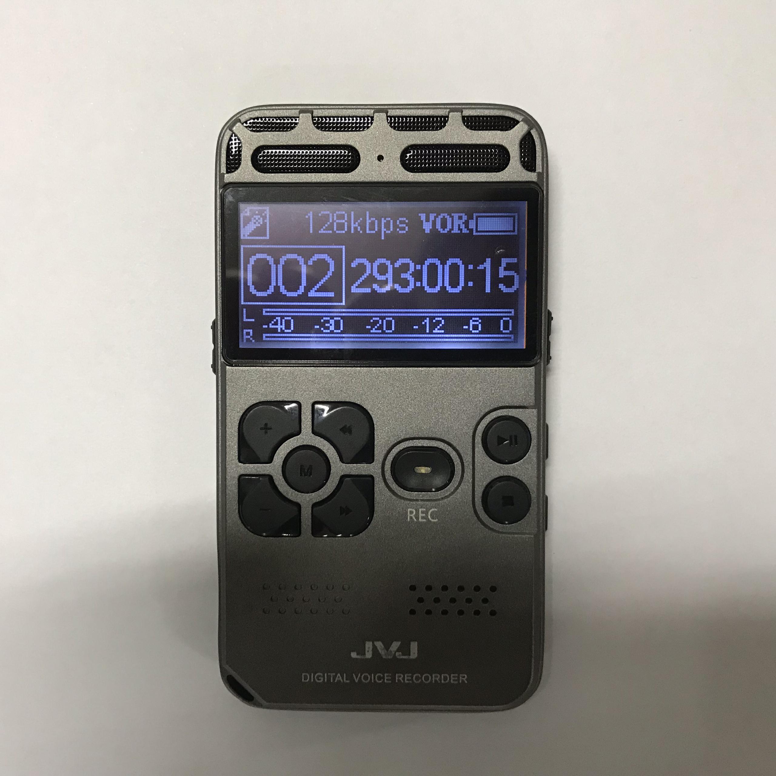 Máy ghi âm JVJ J130 16GB (Ghi âm chất lượng cao, sách hướng dẫn tiếng Việt,  thời lượng pin 30 tiếng liên tục) - Hàng Chính Hãng | Tiki