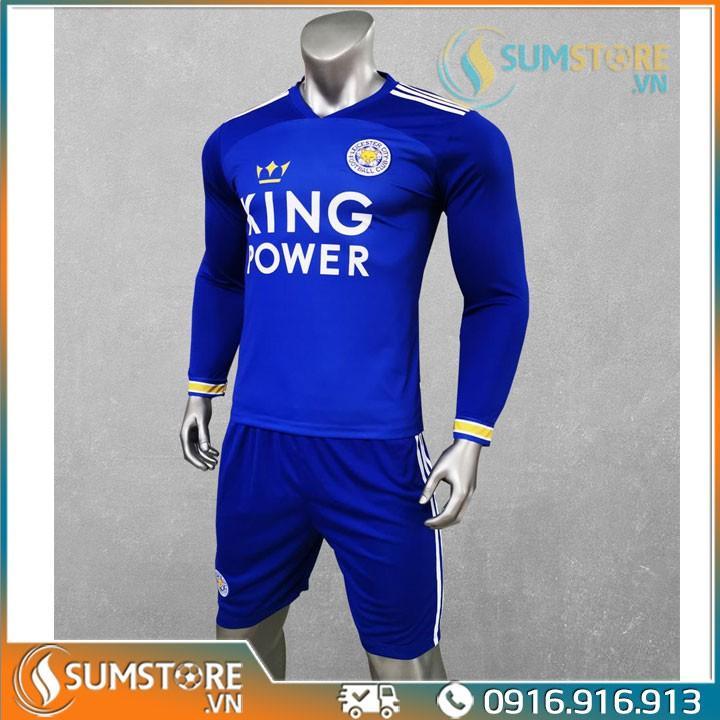 Áo bóng đá thể thao CLB Leicester City - Đồ đá banh Dài tay 2020