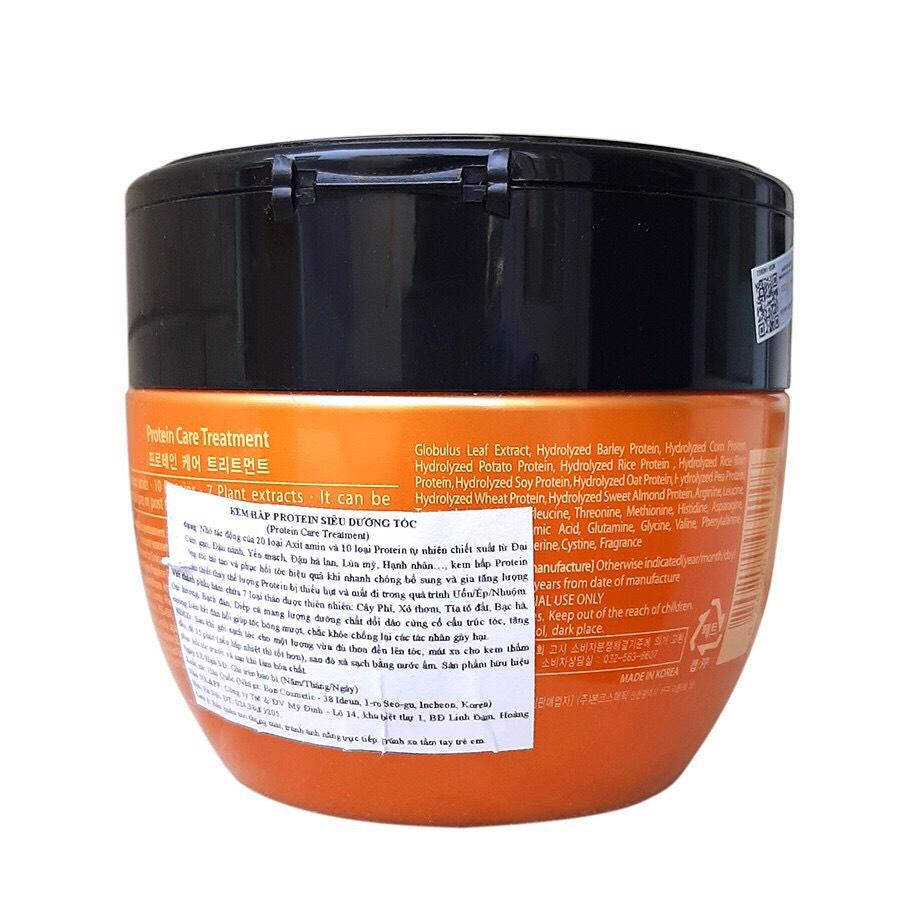 Dầu hấp ủ tóc Sophia Platinum Protein Care Treatment siêu dưỡng Hàn Quốc 500ml