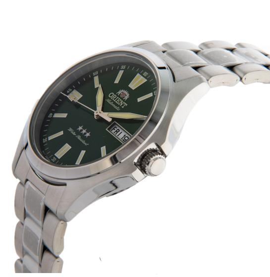 Đồng hồ nam ORIENT Chính hãng RA-AB0F08E19B Automatic Dây thép