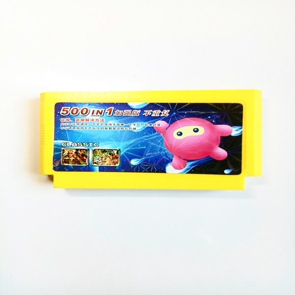 Bộ máy chơi game 4 nút Kèm 1 băng game 500 trò không lặp lại
