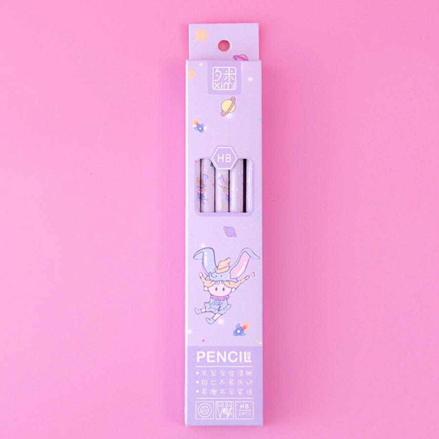 Hộp 10 bút chì chuốt hình Búp bê - nhiều mẫu