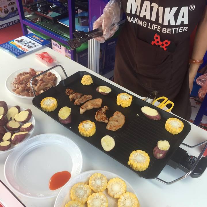 Bếp nướng điện Matika MTK-4928 - Hàng chính hãng