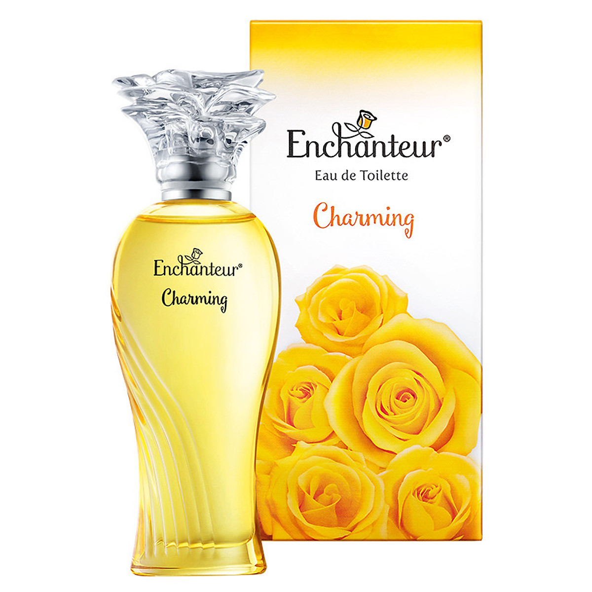 Nước Hoa Cao Cấp Enchanteur Charming (50ml)+Tặng Nước Bỏ túi Enchanteur 18ml