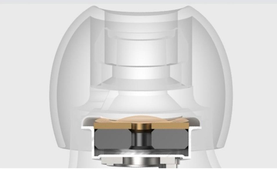 Loa Bluetooth LANITH Golden Eggs - Loa Phát Không Dây Mini - Cộng Hưởng Dụng Kép 2 Bên Màng Loa - Chất Lượng Âm Bass Chắc - Có Khe Cắm Thẻ Nhớ, USB - Tặng Kèm Cáp Sạc 3 Đầu - Hàng Nhập Khẩu - LGE00001-CAP00001
