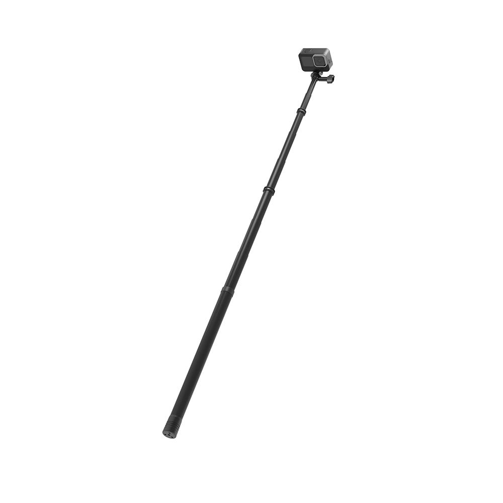 Gậy chụp selfie 3M kiêm tripod/ monopod TELESIN  carbon cho Gopro, Osmo Action Sjcam, gậy tự sướng cho Action Cam (Hàng Chính Hãng)