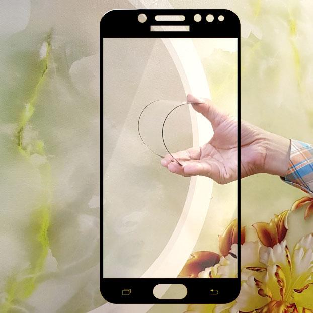 Miếng kính cường lực cho Samsung Galaxy J7 Pro, Galaxy J7 Plus Full màn hình