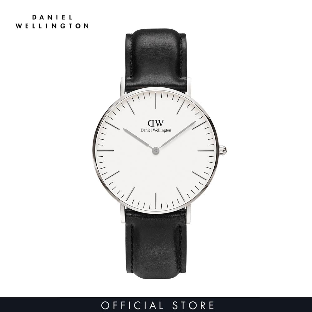 Đồng hồ Nam, Nữ Daniel Wellington dây da - Classic Sheffield 36mm DW00100053