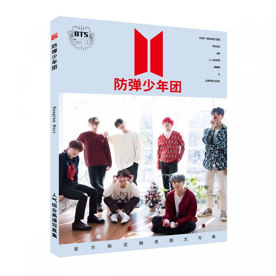 Photobook BTS Photo album of Bangtan Boys (Tặng móc khóa gỗ BTS thiết kế độc quyền)