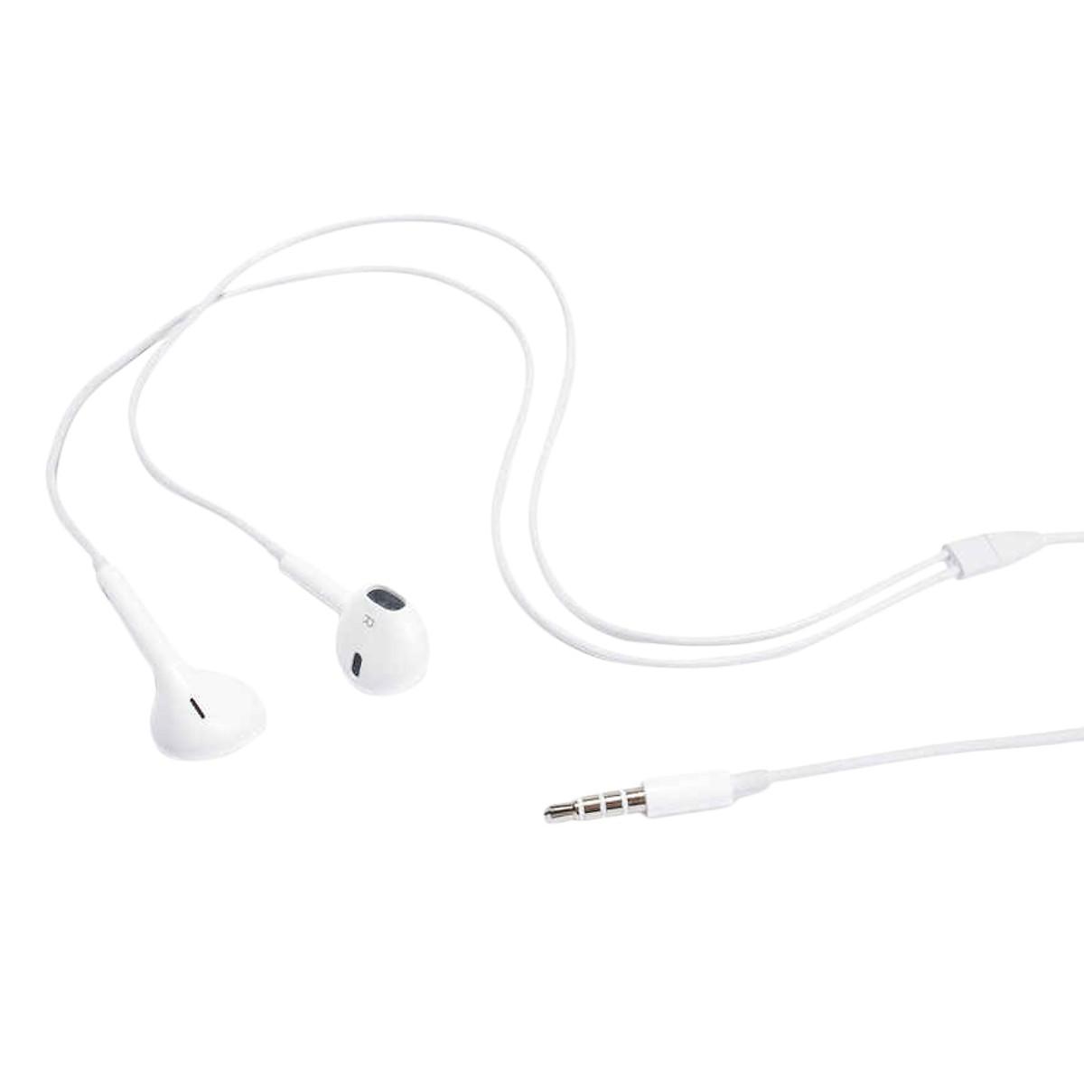 Earphone nhét tai cho iPhone 6S ( Trắng ) - Hàng chính hãng