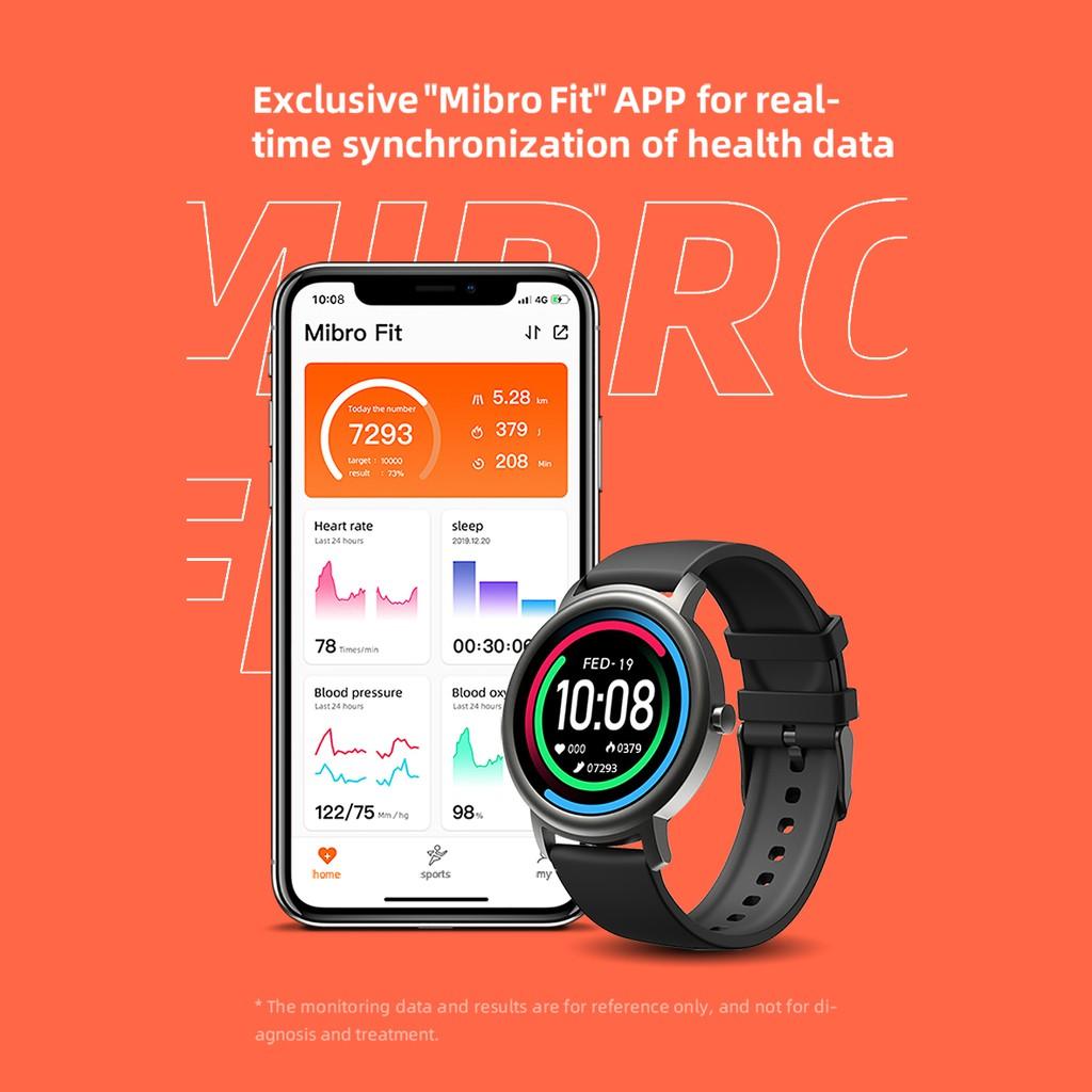 Đồng Hồ Thông Minh Xiaomi Mibro Air Xpaw001 Kết Nối Bluetooth 5.0 Theo Dõi Sức Khỏe Chống Nước Ip68 Hỗ Trợ Android Ios Hỗ Trợ Nhiều Ngôn Ngữ - Hàng Nhập Khẩu