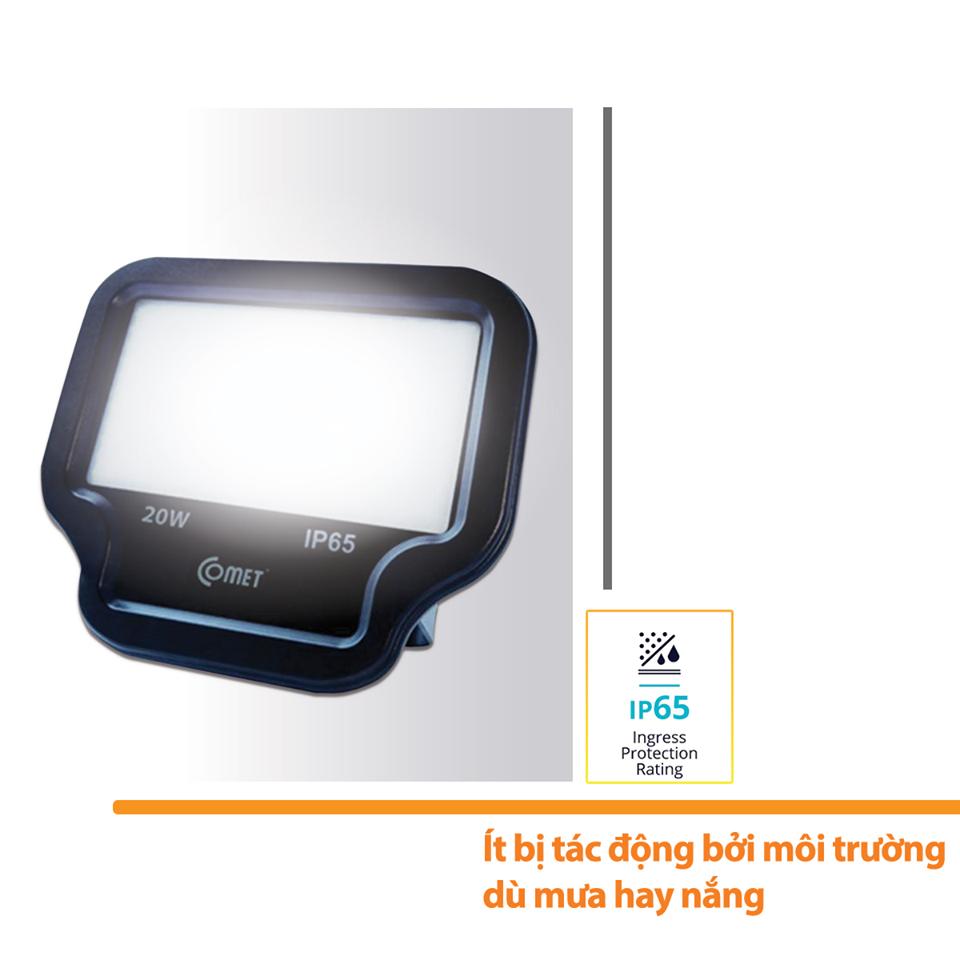 Đèn Led Pha Standard công suất lớn 30W CF01S0303 (Ánh Sáng Trắng Ấm 3000K)