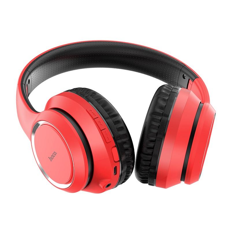 Tai Nghe Chụp Tai  Bluetooth HOCO W28 - Dung Lượng Pin 250mAh - Hàng Chính Hãng