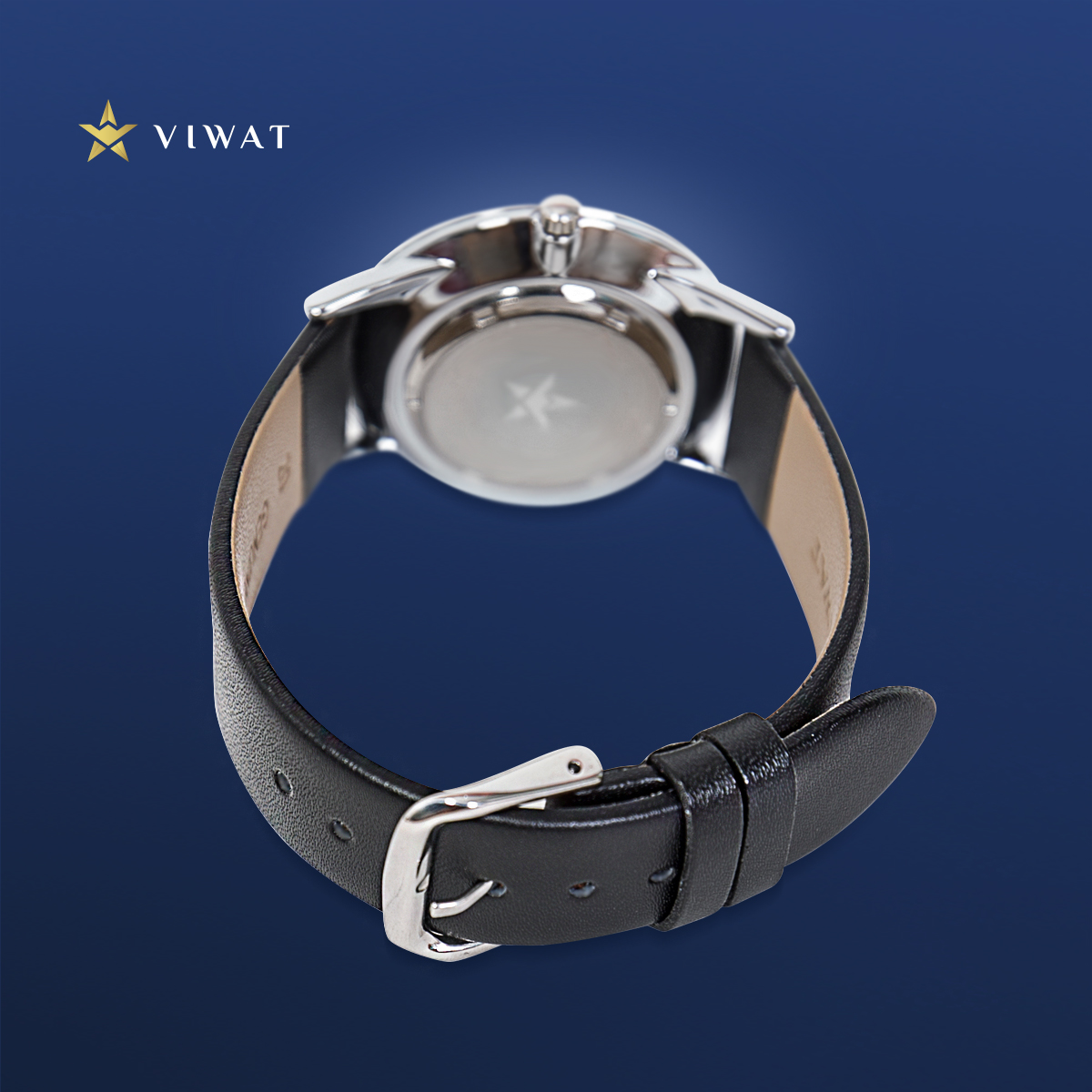 Đồng hồ nữ dây Nato Viwat Sài Gòn VW-125S ( 28mm) Xanh dương đậm