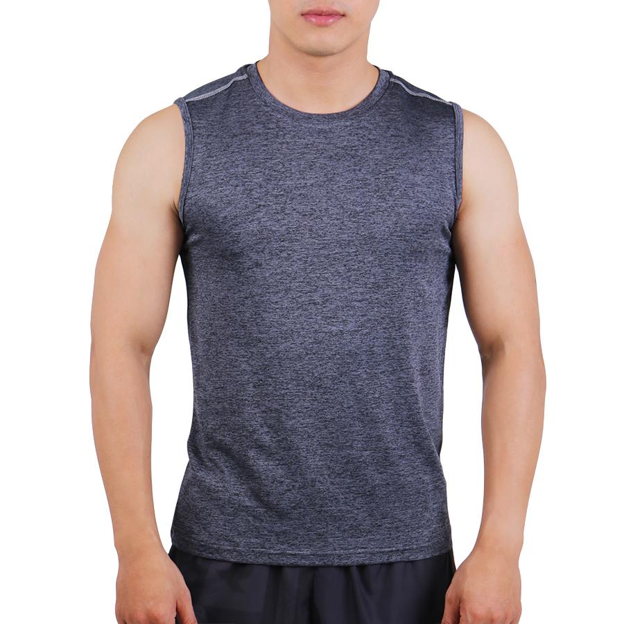 Áo Body Tập Gym Nam Sát Nách Unique Apparel ABSNE1 - Xược Xám
