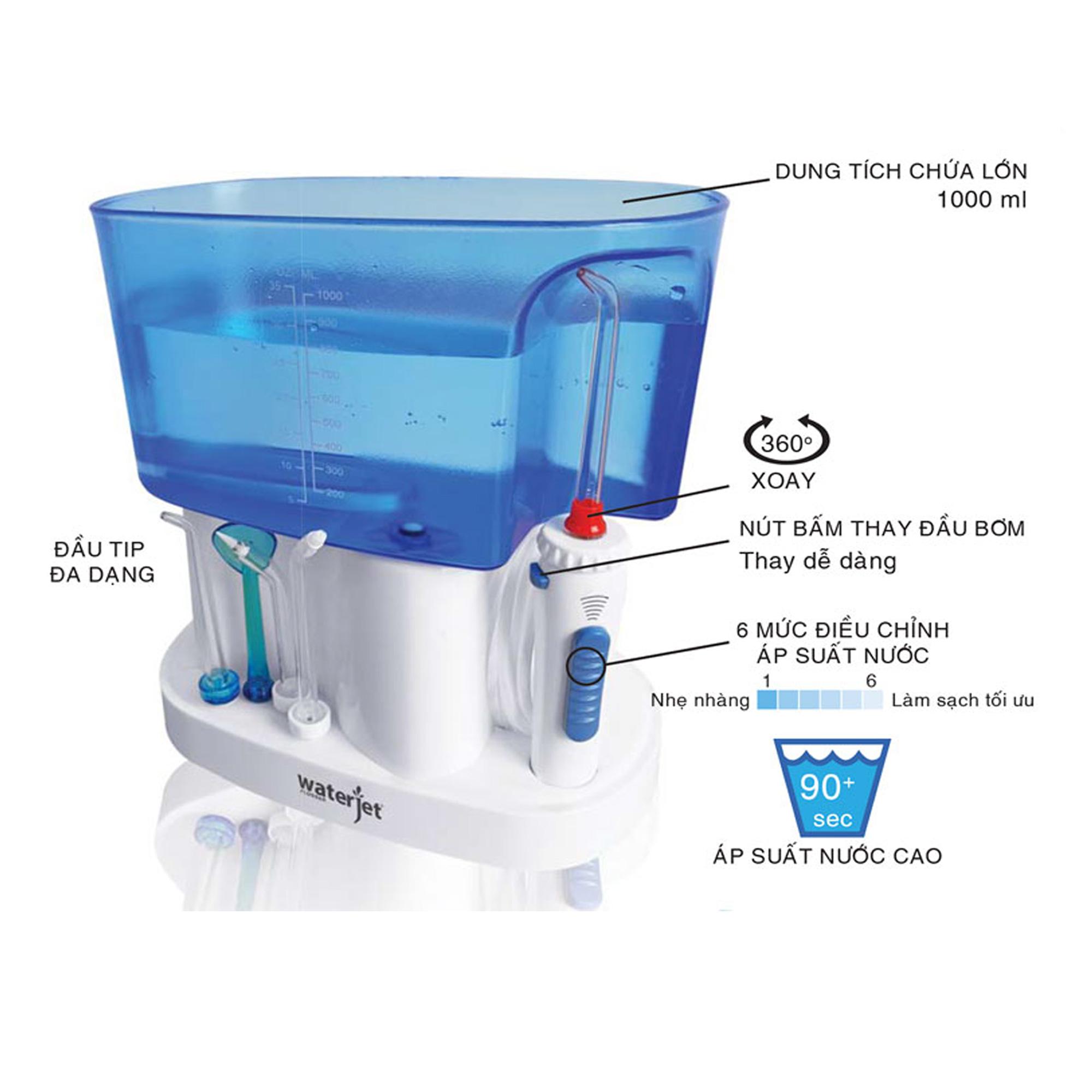Máy tăm nước cho gia đình Waterjet Classic