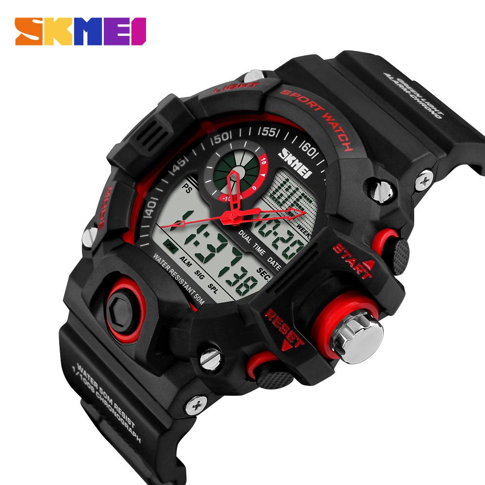 Đồng hồ đeo tay Skmei - 1029RD-Hàng Chính Hãng
