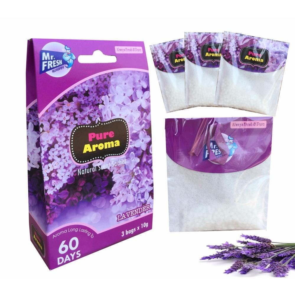 Túi Thơm Treo Tủ Quần Áo 3 Gói X 10g Hương Lavender TI858