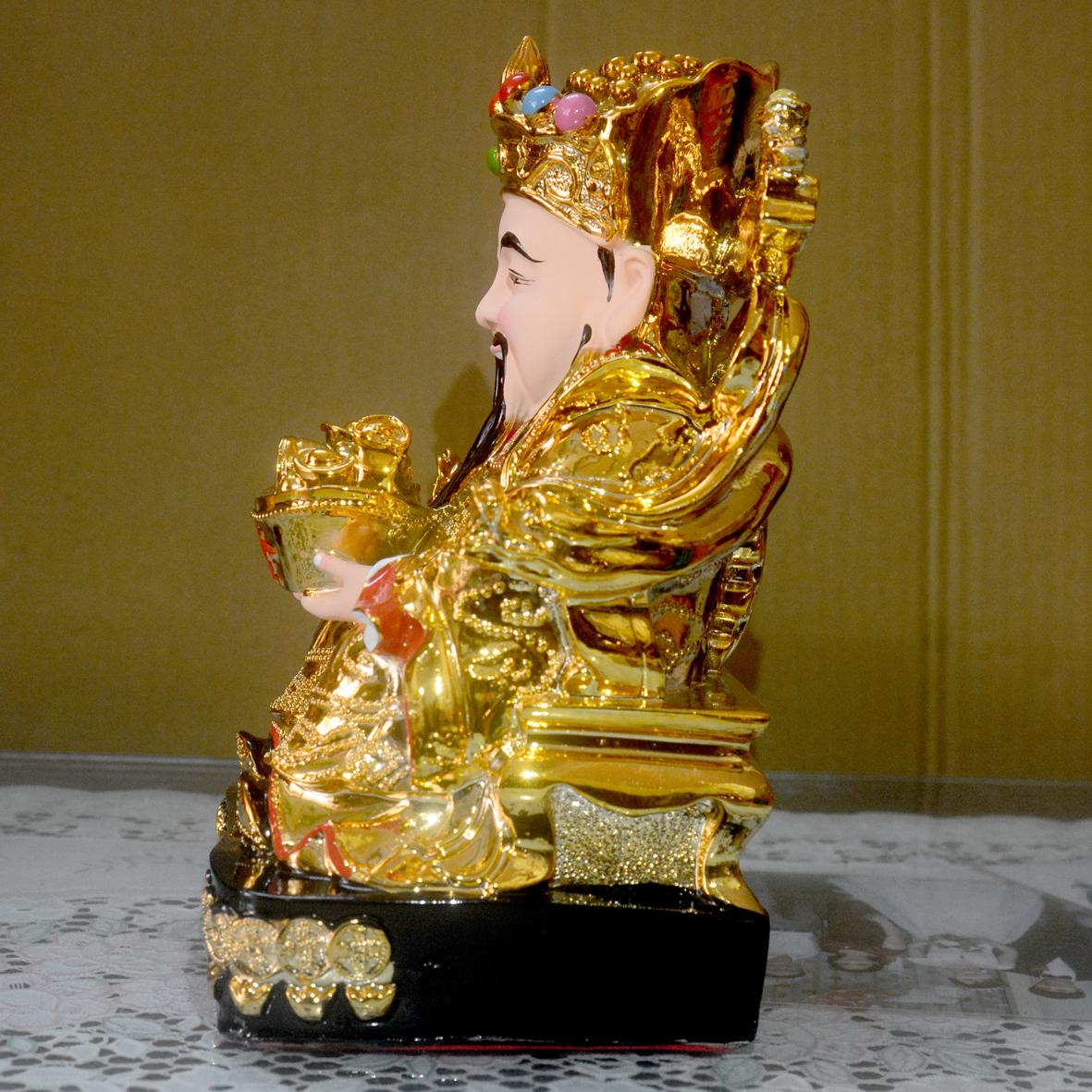 Tượng Thần Tiền đặt bàn thờ Thần Tài Thổ Địa xi vàng-Nhiều cỡ