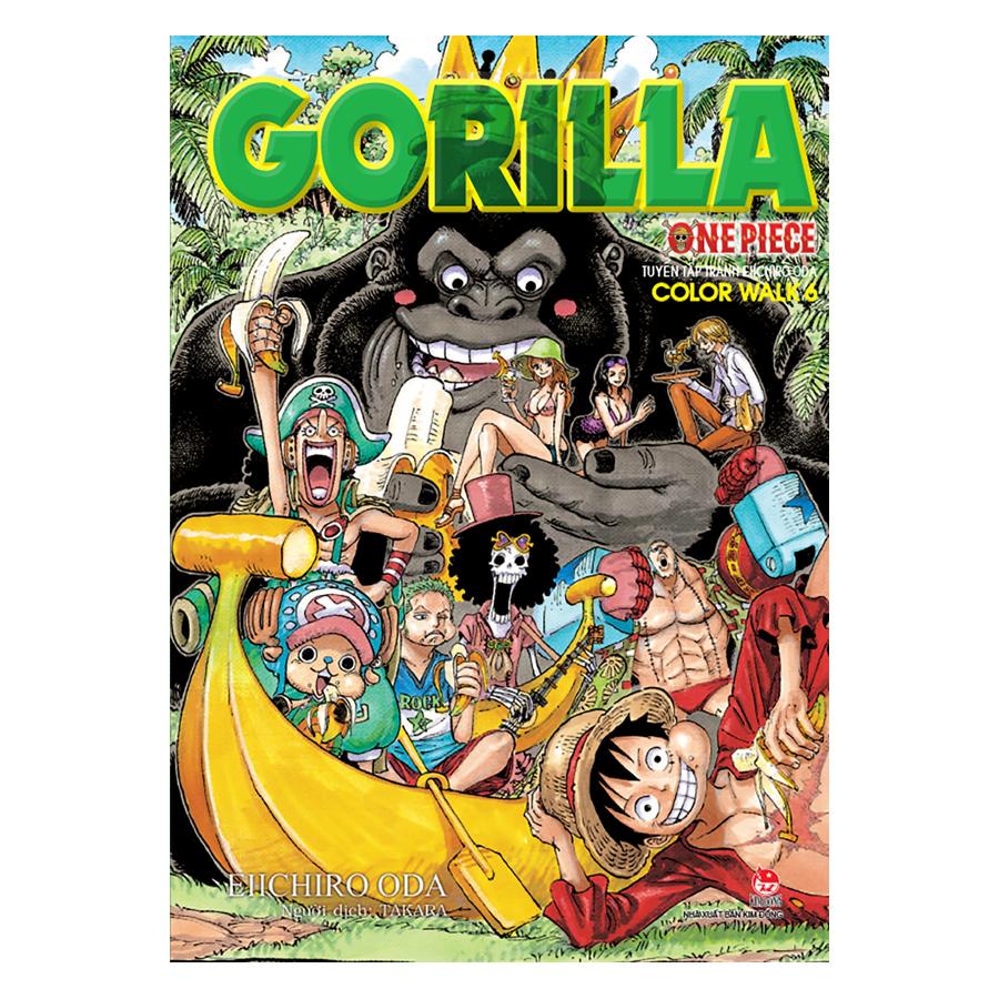 One Piece Color Walk 6: Gorilla