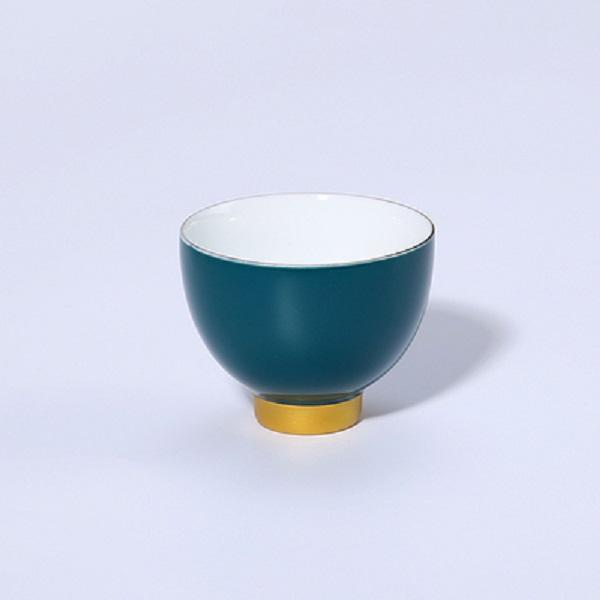 Chén sứ uống trà men ngọc – màu xanh lục
