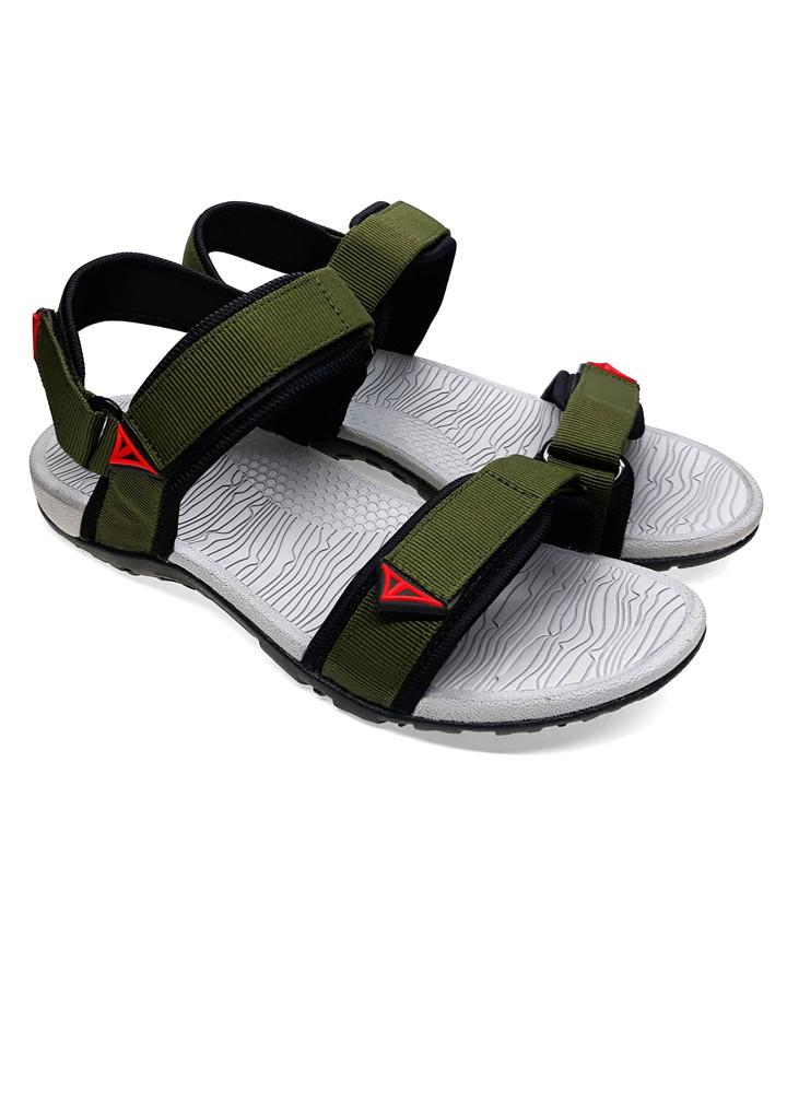 Giày sandal nam quai dù thời trang cao cấp Việt Thủy - A016-xanh rêu