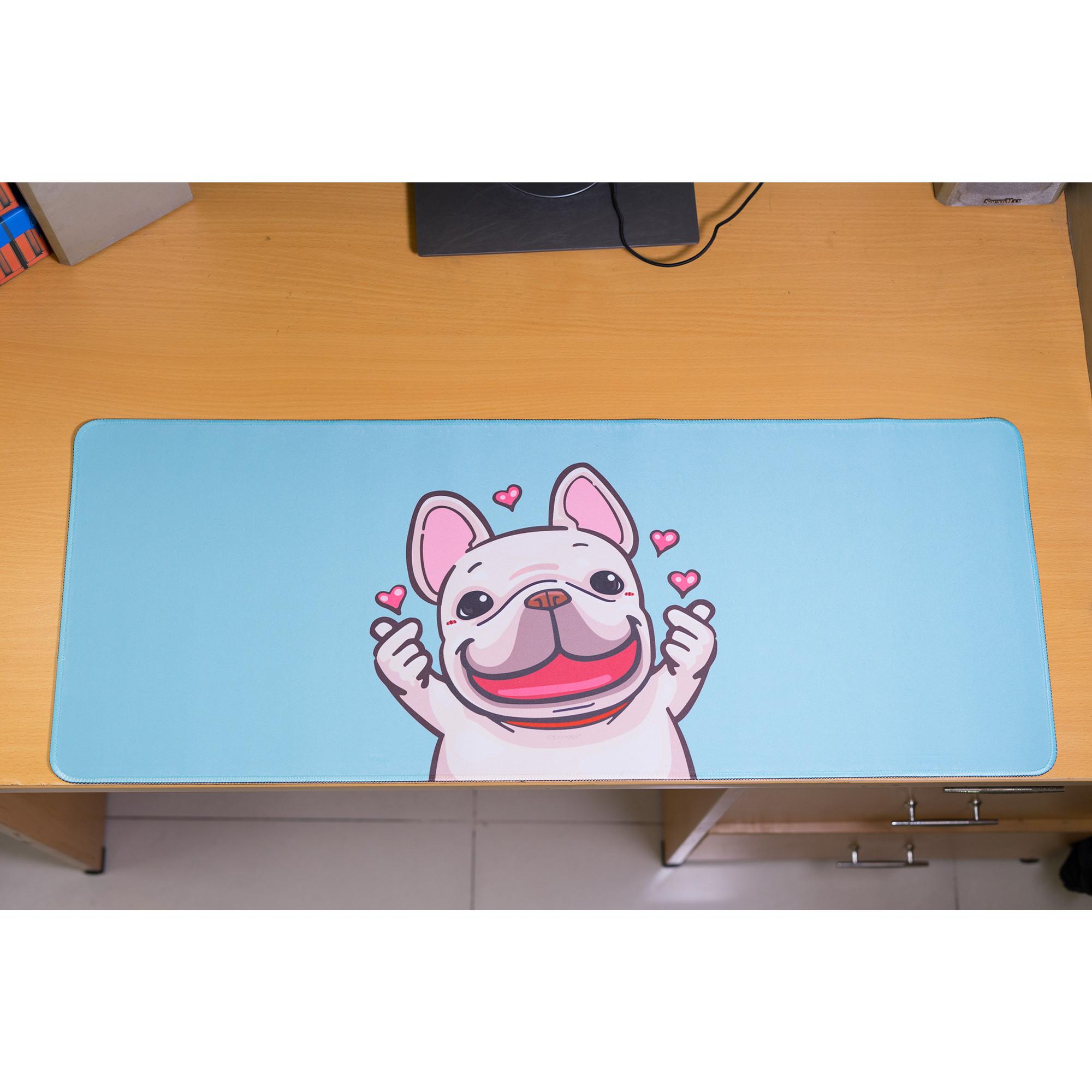 Bàn di chuột, miếng lót chuột, mouse pad size 80x30, 90x40 (mẫu mới)