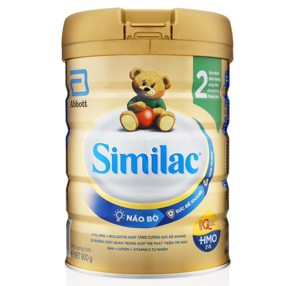 Combo 3 Lon Sữa Bột Similac 2 (900g)